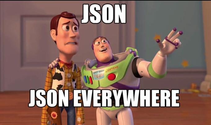 json evrywhere